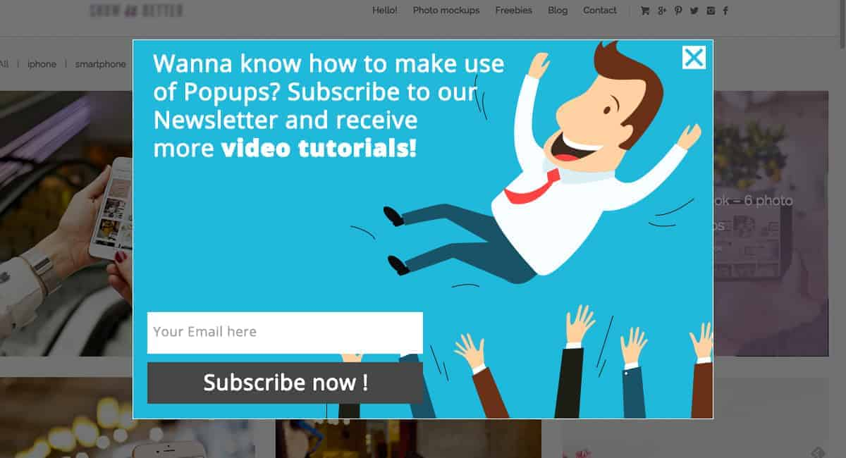 Popup Maker - Subscription Popup