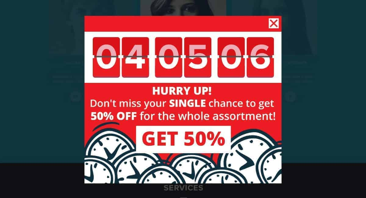 Countdown Popup Psychology