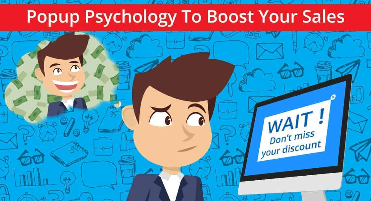 Popup Psychology To Increase Sales Banner