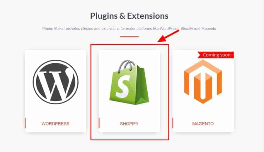 Select Shopify Popup Maker Extension