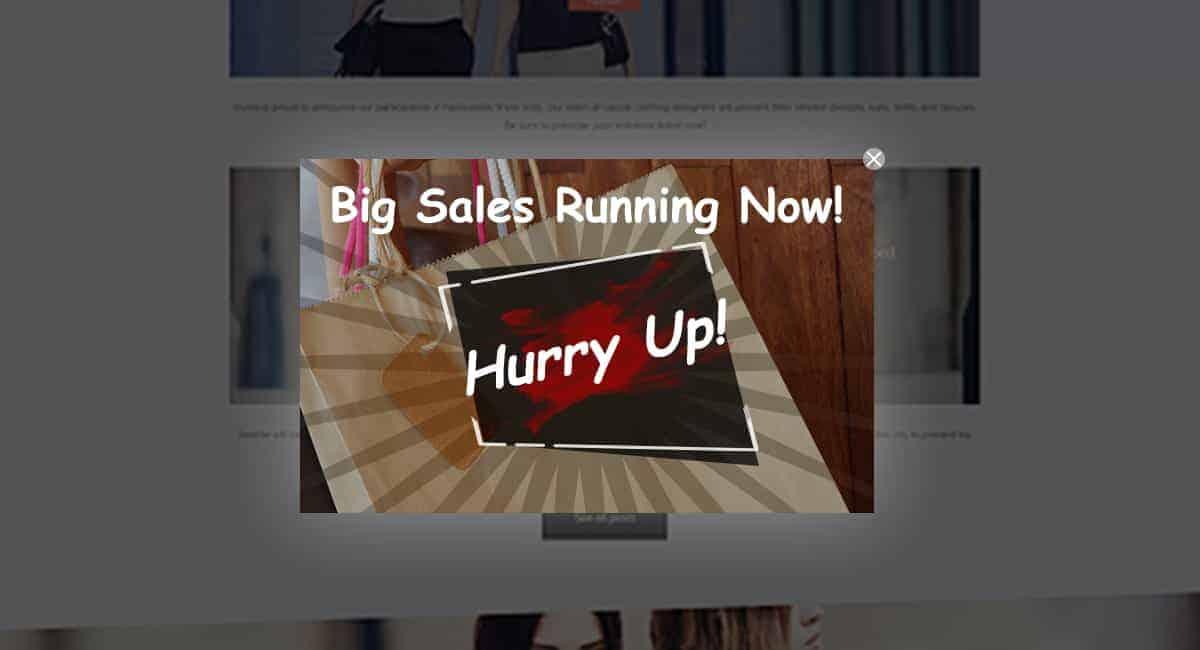 Popup Maker - Sales Popup