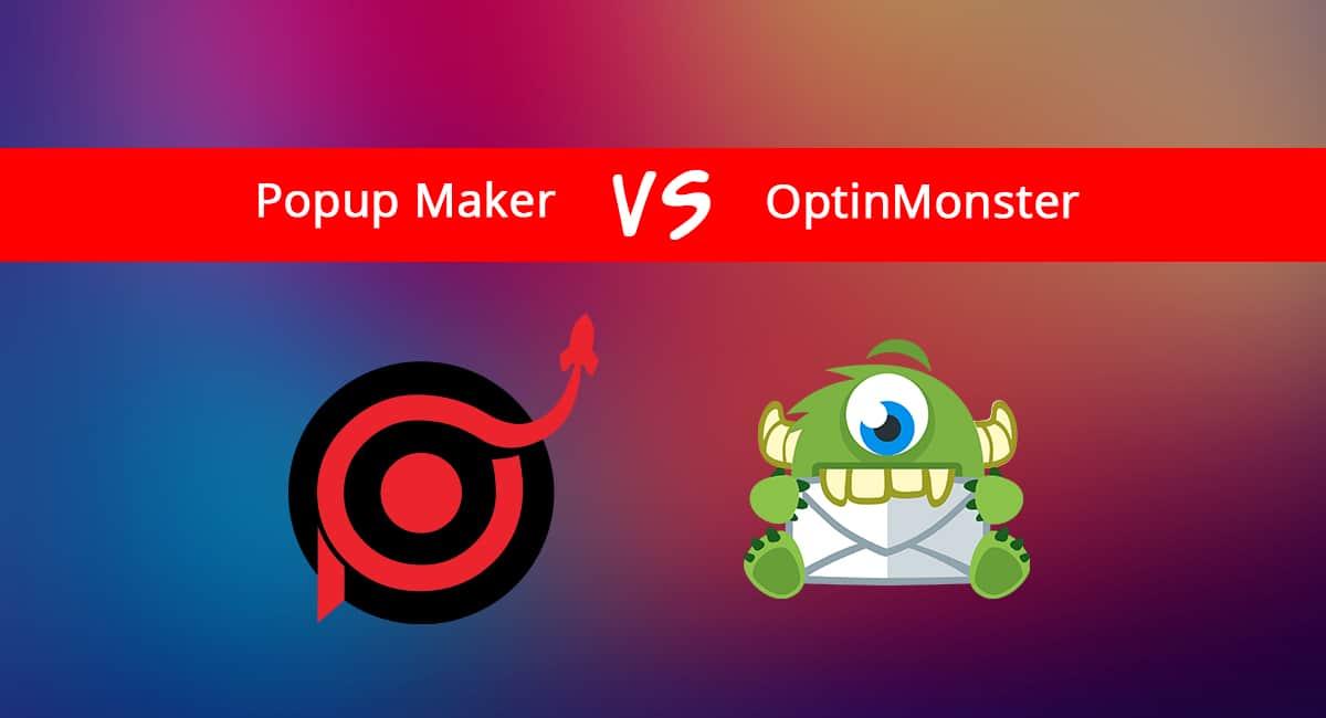 Popup Maker vs OptinMondster Banner
