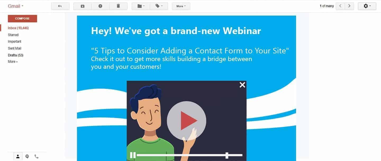 Ad email webinar
