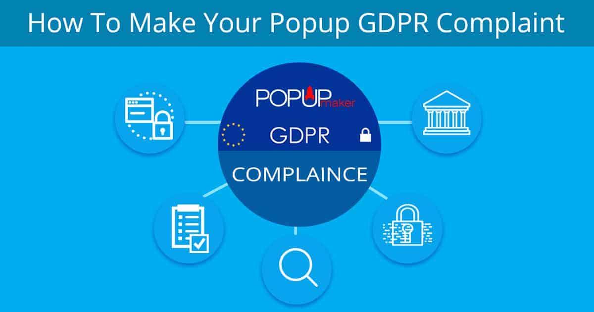 Popup Maker - GDPR Compliant