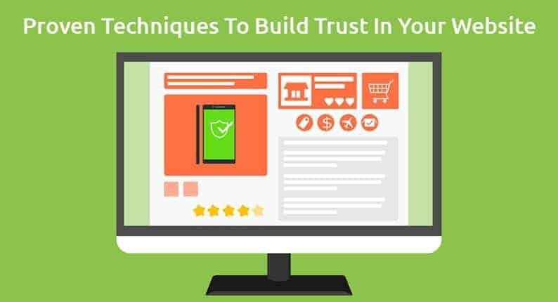 Build visitor trust banner