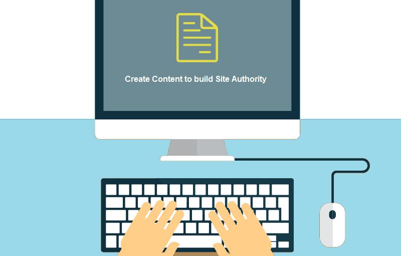 Generate content build visitor trust