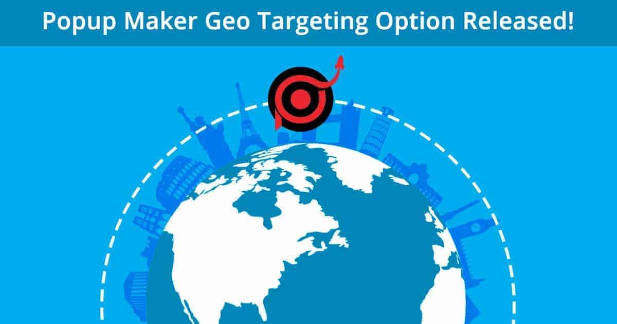 Geo targeting banner