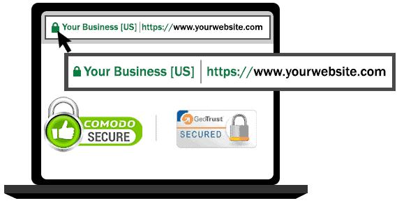 Online payment security screenshot