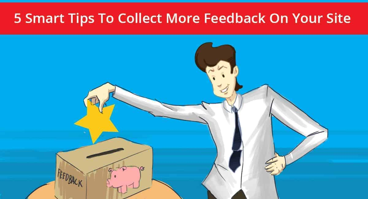 Collect more feedback banner