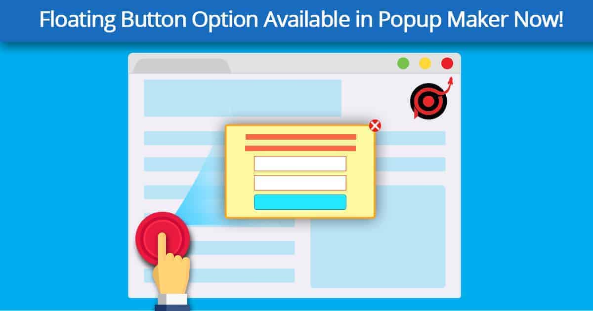 floating button option banner