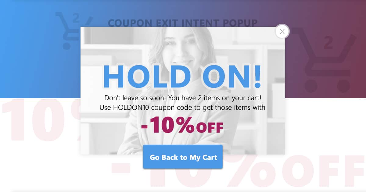 Popup Maker - Exit Intent