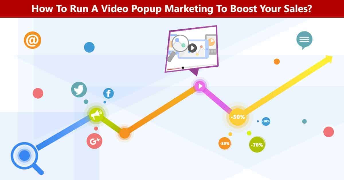 popup video marketing banner