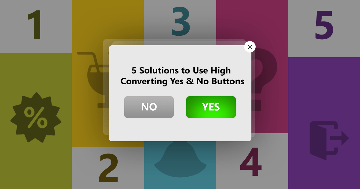 converting yes and no buttons