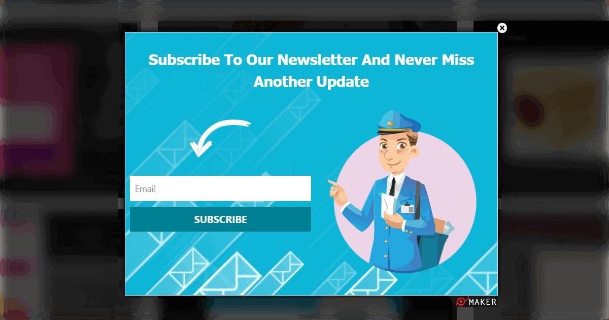subscription popup | digital marketing strategies