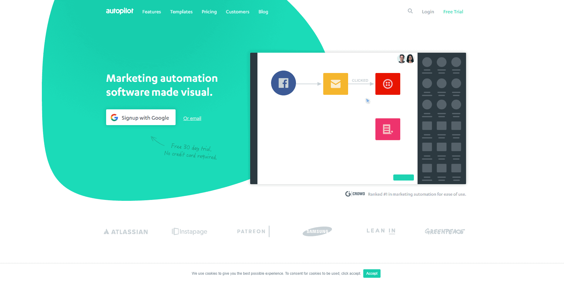 Autopilot - marketing automation tool