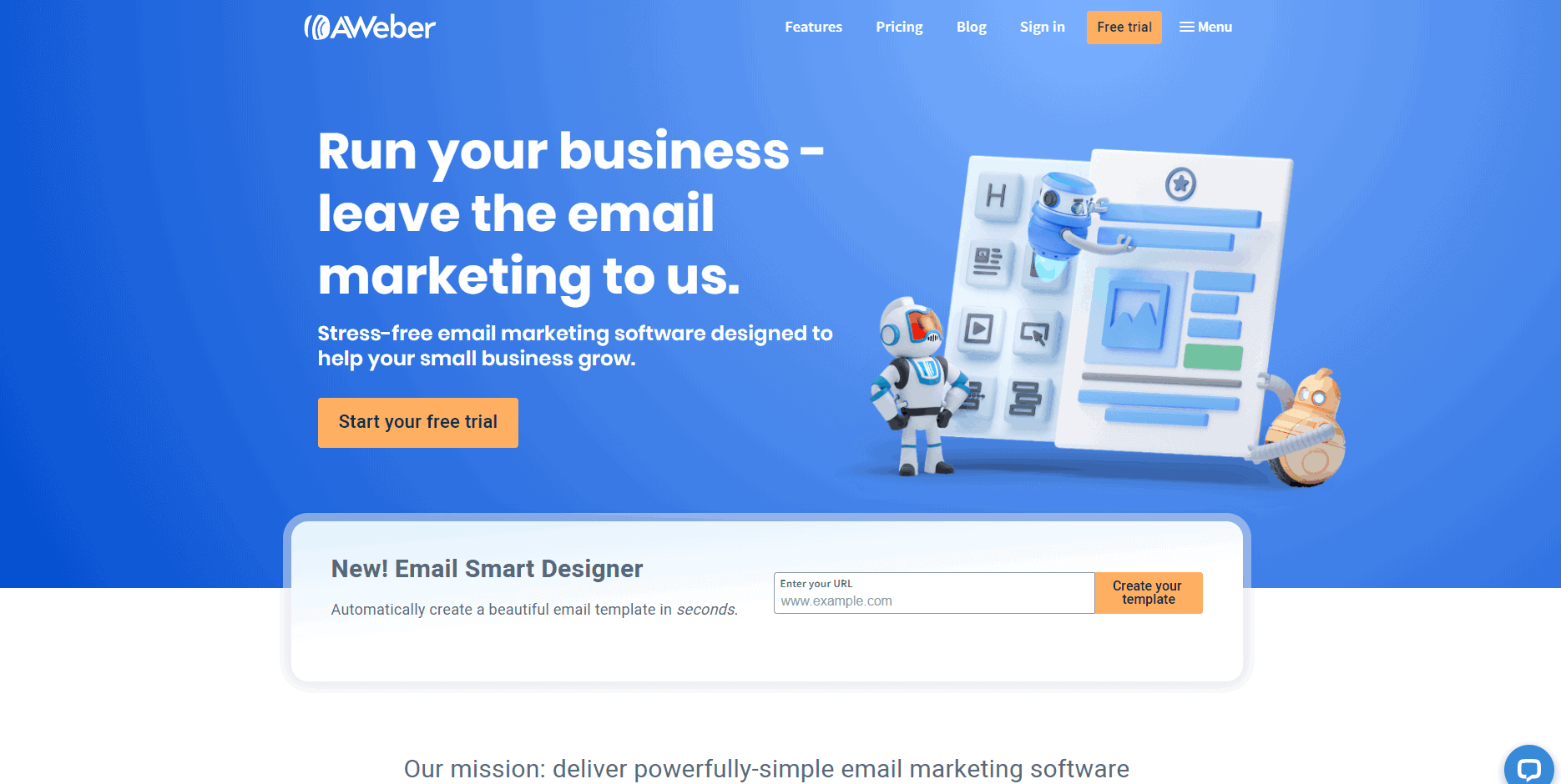 Aweber - marketing automation tool