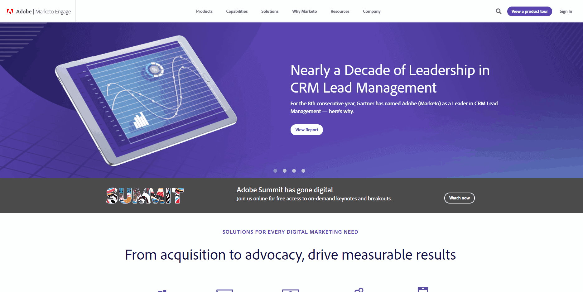 Marketo - marketing automation tool