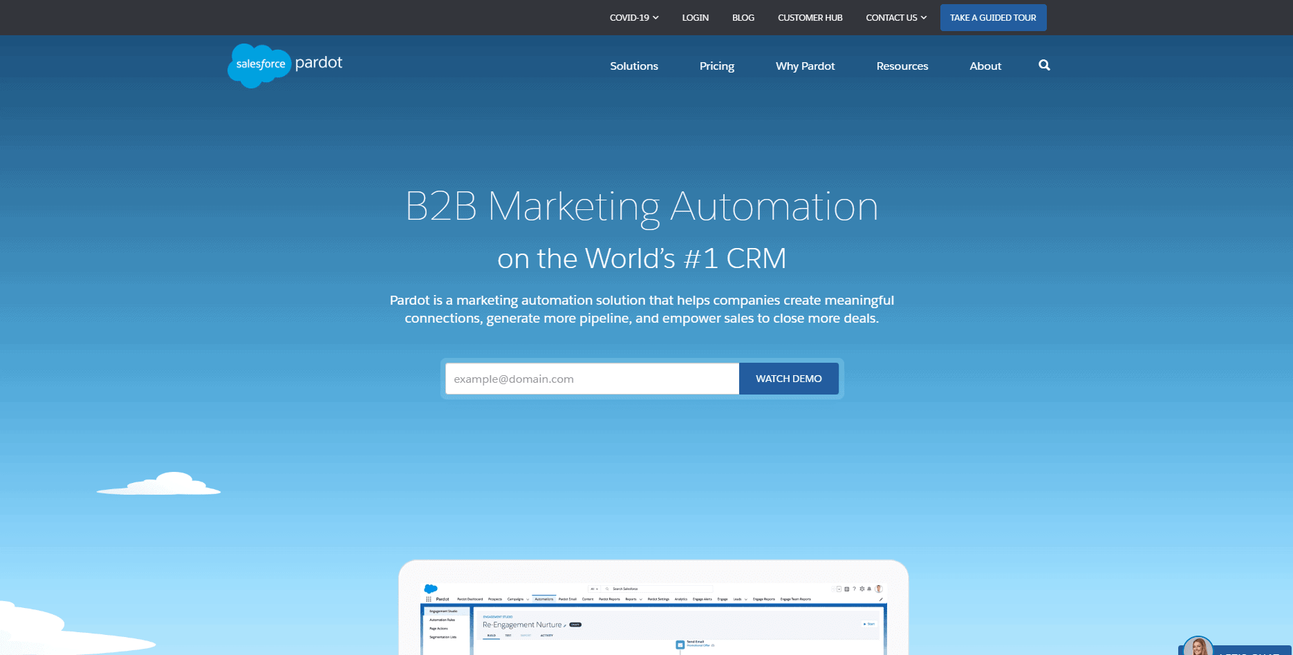 Pardot - marketing automation tool