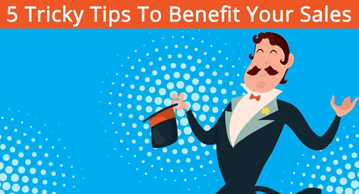 benefit your sales banner