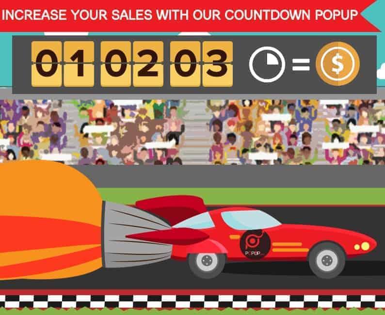 popup countdown