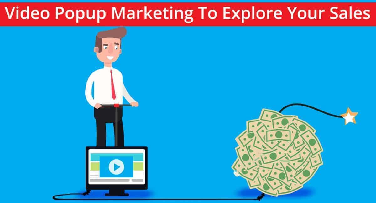 video popup marketing