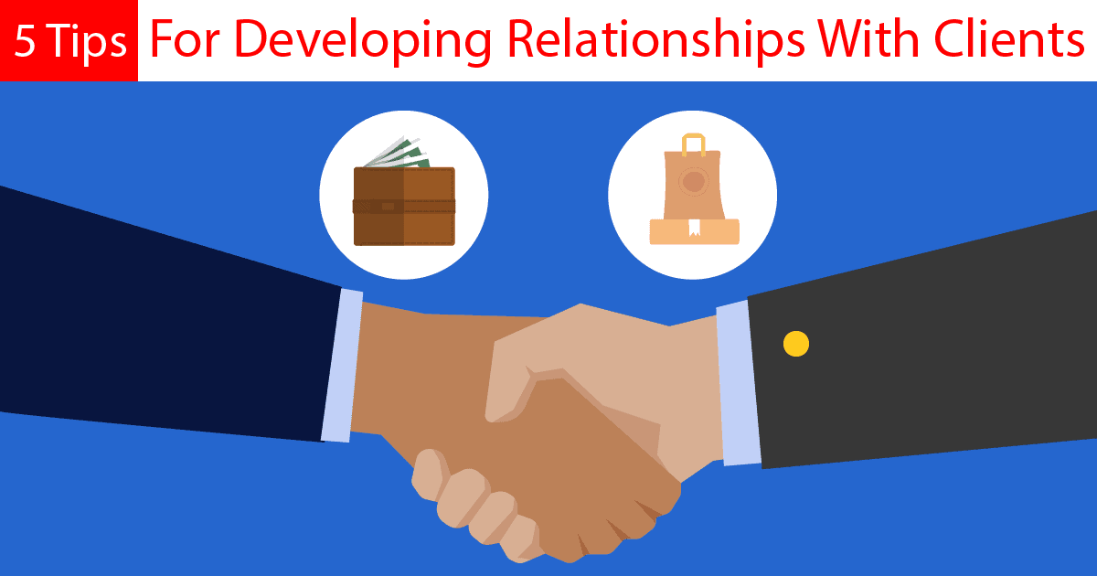 customer relationships handshake