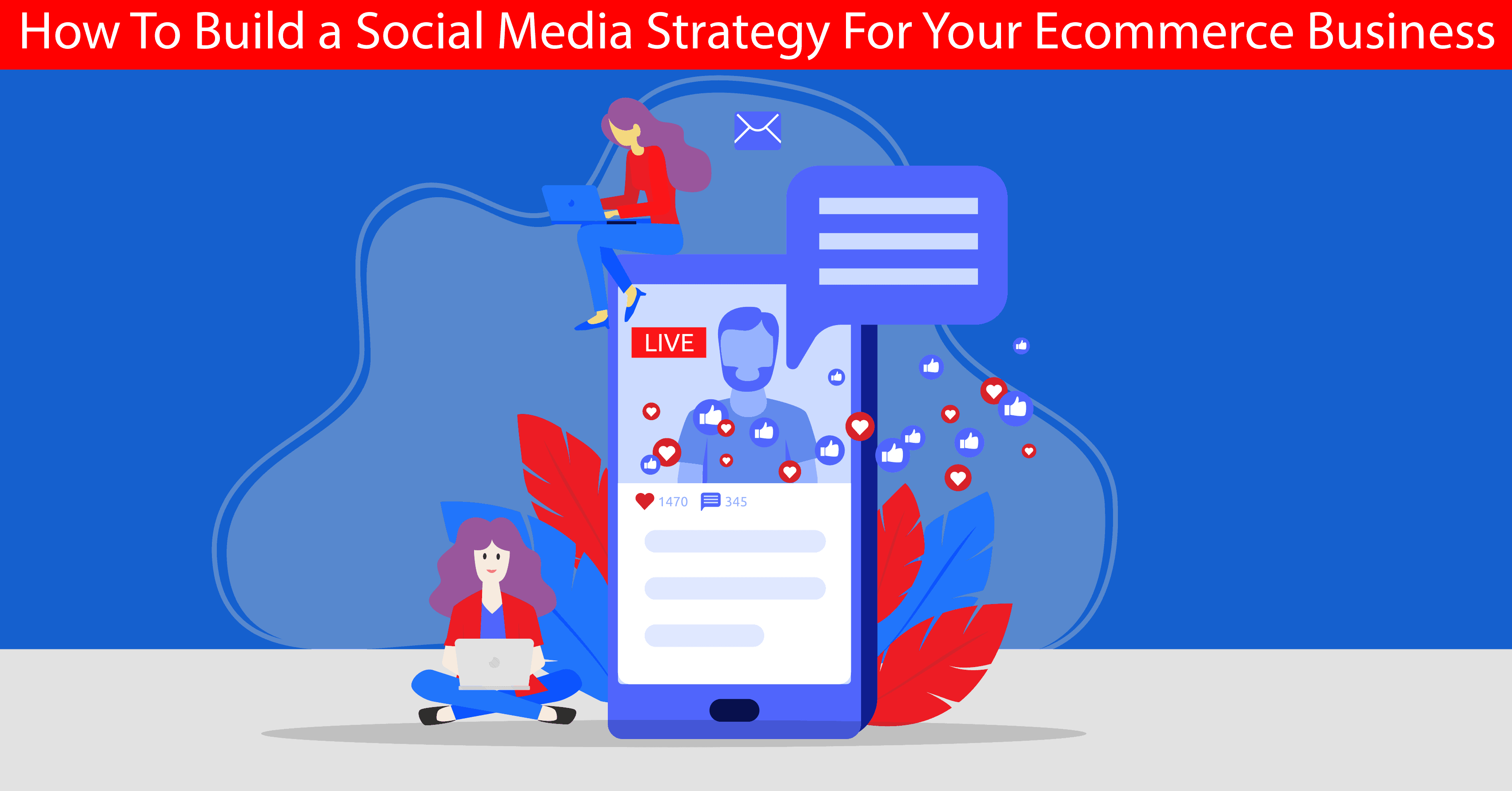 Build social media strategy banner