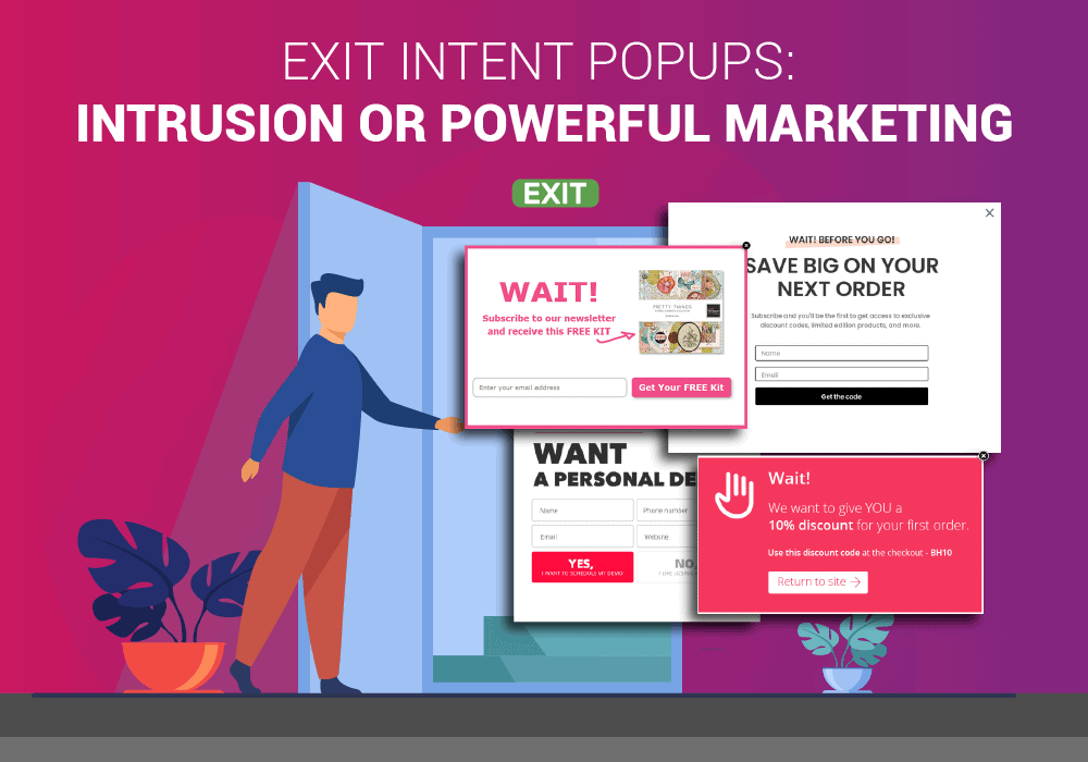 Exit popups powerful marketing