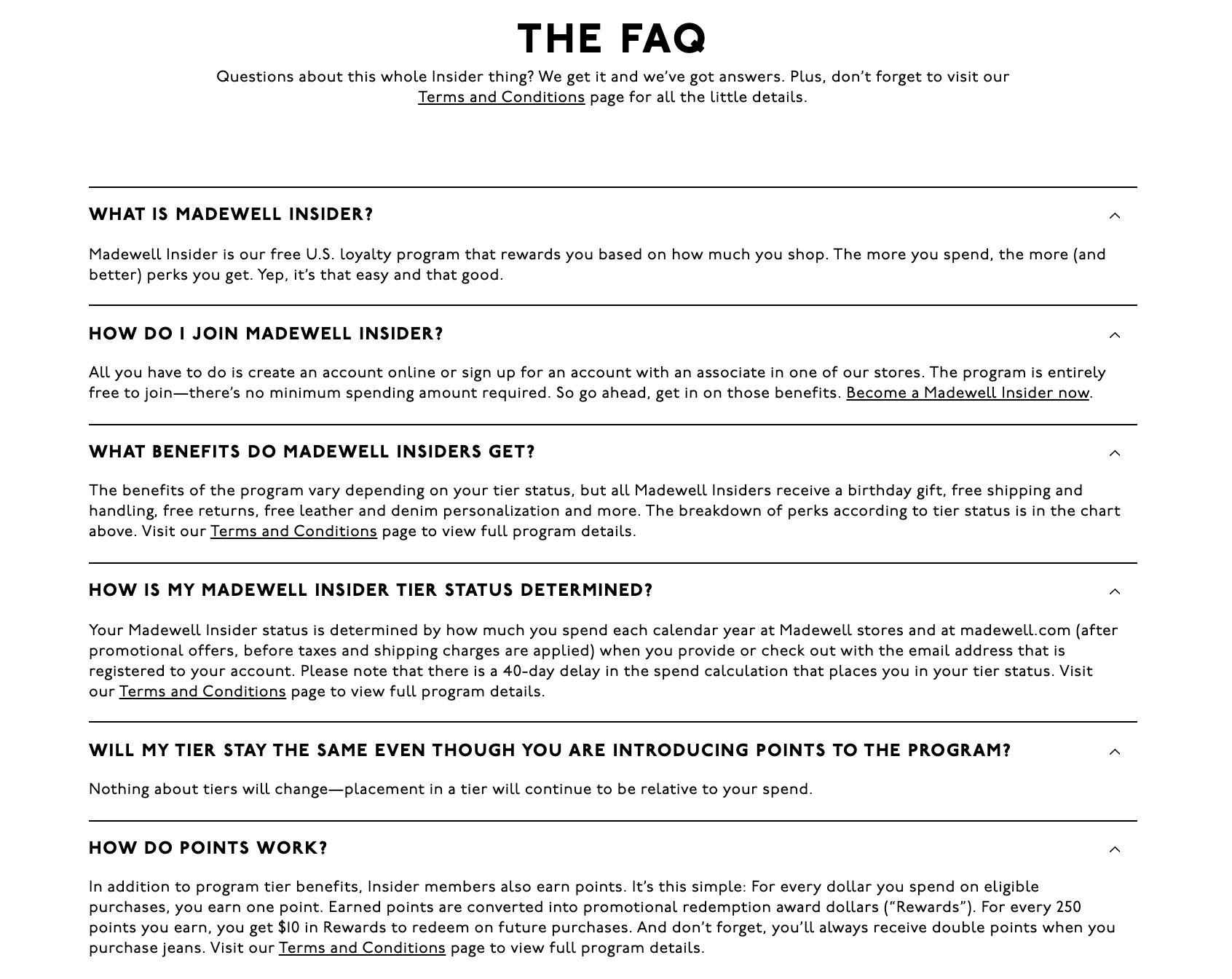 FAQ for Customer Retention