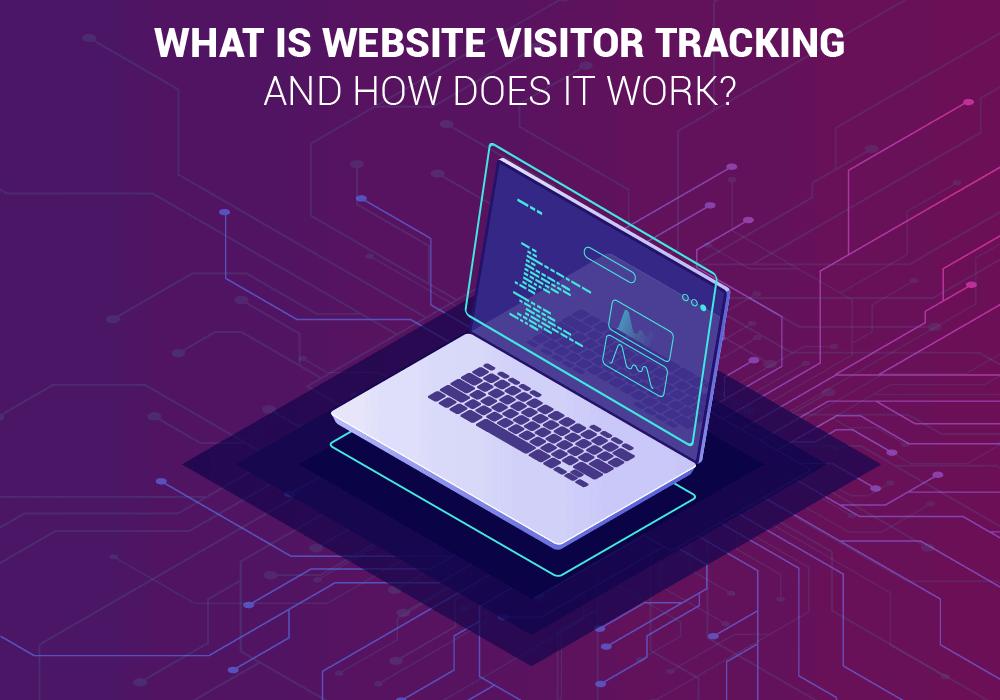 Website visitor tracking banner