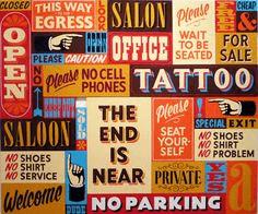 Expressive typography popup design
