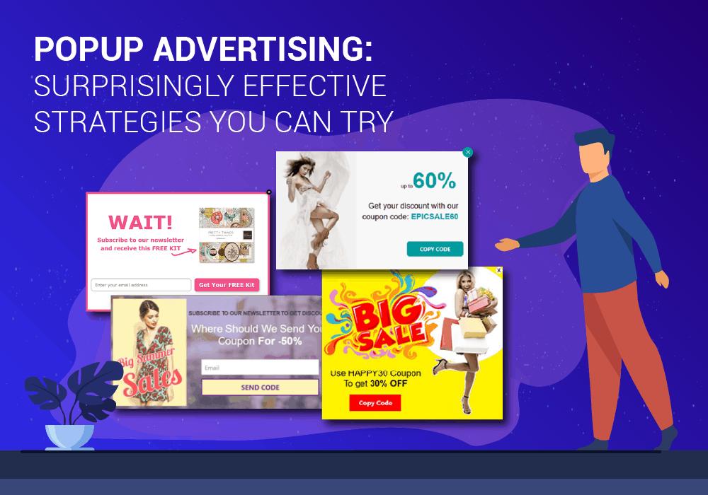 Popup advertising
